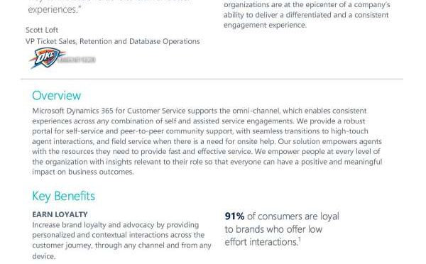Customer Service Key Capabilities