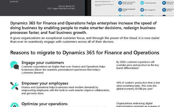 Modernize your ERP Operations Finance