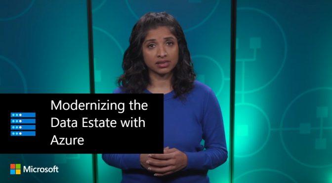 Modernizing the Data Estate with Azure | Rachita Sundar