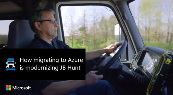 How migrating to Azure is modernizing JB Hunt