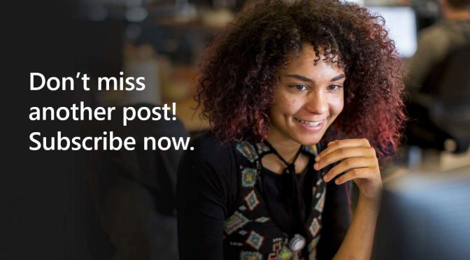 Open up a new line of communication. Subscribe now.