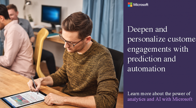 Social Asset A: Deepen and engage customers with AI
