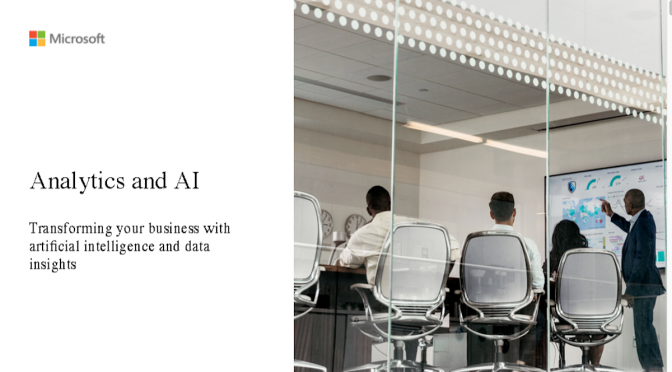 Apps Analytics & AI Customer Pitch Deck