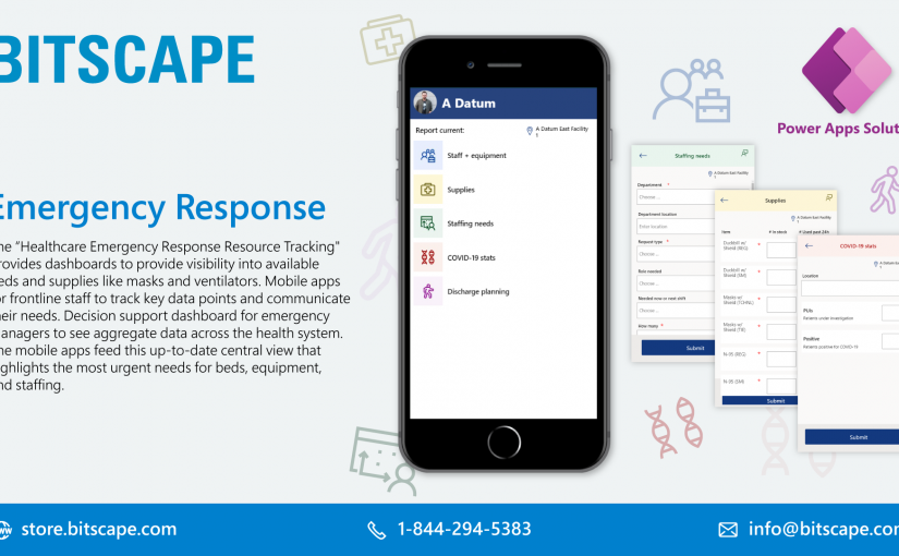 Emergency Response Power Apps