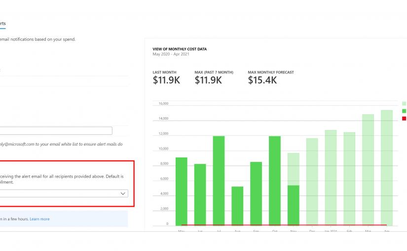Azure Cost Management and Billing updates – November 2020 | Azure Blog and Updates | Microsoft Azure