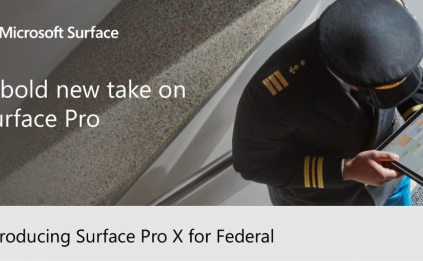 Introducing Surface Pro X for Federal