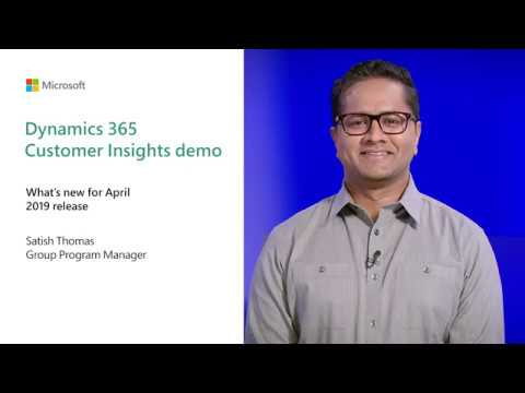 Dynamics 365 Customer Insights demo