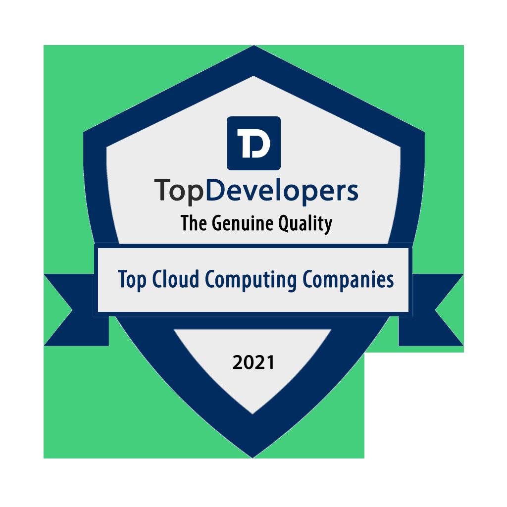 Badge Top Cloud Computing Companies 2021