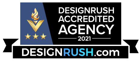 Designrush Accredited Agency Badge