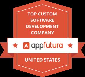 Top Custom Software Development Company Badge United States