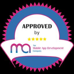 Top Mobile App Development Company Badge