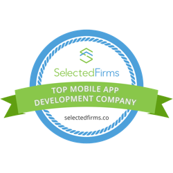 Top Mobile App Development Company Badge Selectedfirms